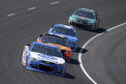 A.J. Allmendinger, JTG Daugherty Racing, Chevrolet; Martin Truex Jr., Furniture Row Racing, Toyota