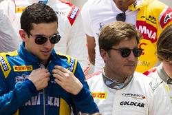 Nicholas Latifi, und Stefano Coletti, Campos Racing