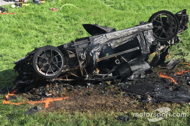Авария: Ричард Хаммонд за рулем Rimac Concept One