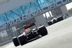 Daniel Ricciardo, Red Bull Racing prueba los nuevos neumáticos Pirelli de 2017