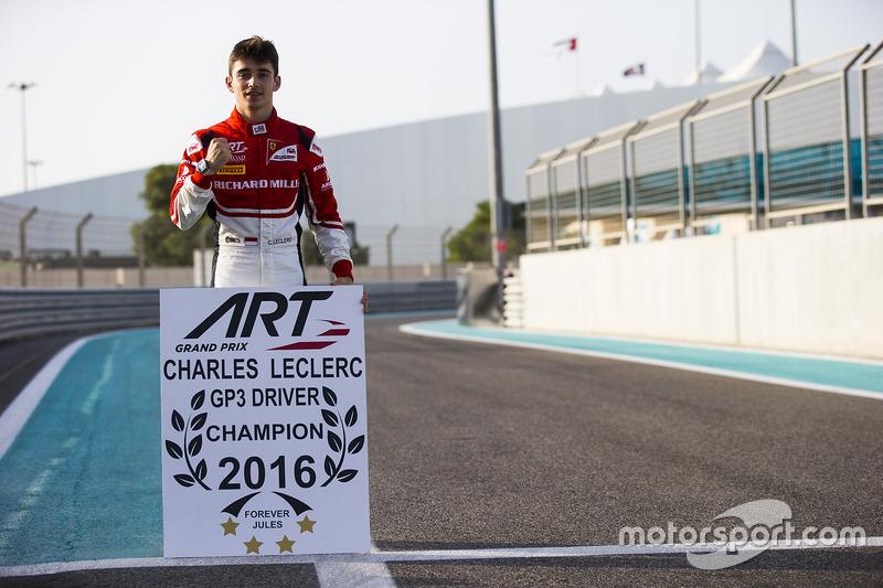Dua gelar beruntun: GP3 dan Formula 2