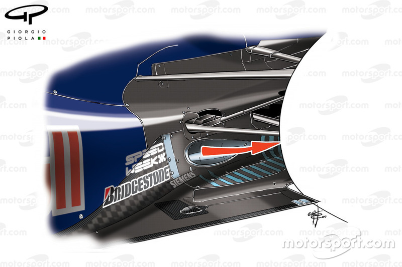 Red Bull RB6 low-line exhaust to blow the diffuser