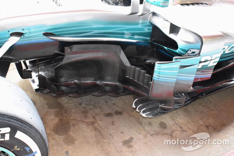 Бічна деталь Mercedes AMG F1 W08