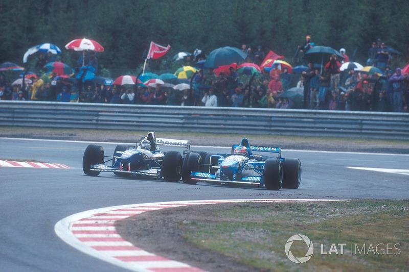 11. El Williams FW17 de Fórmula 1