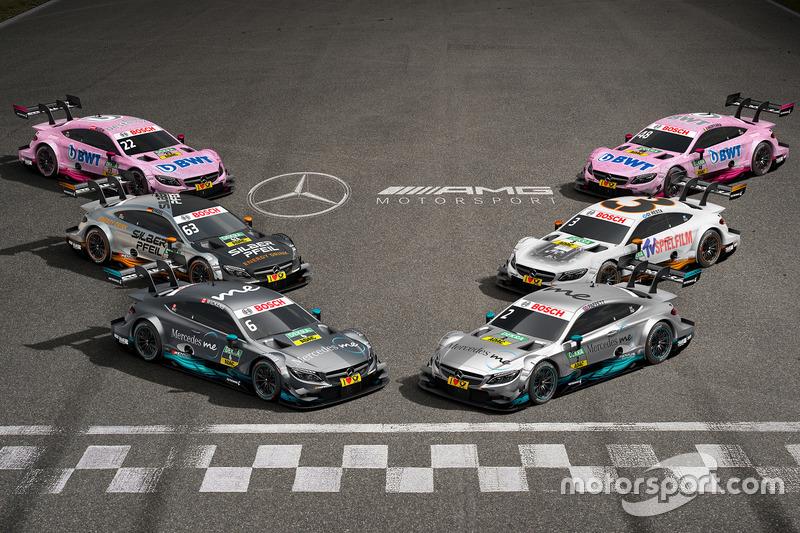 Todos los Mercedes-Benz DTM 2017