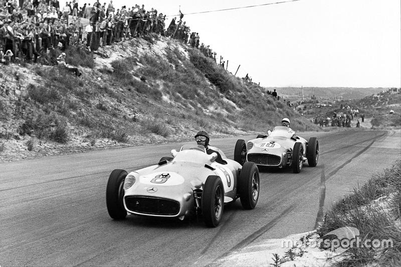 1955: Juan Manuel Fangio, Mercedes-Benz W196
