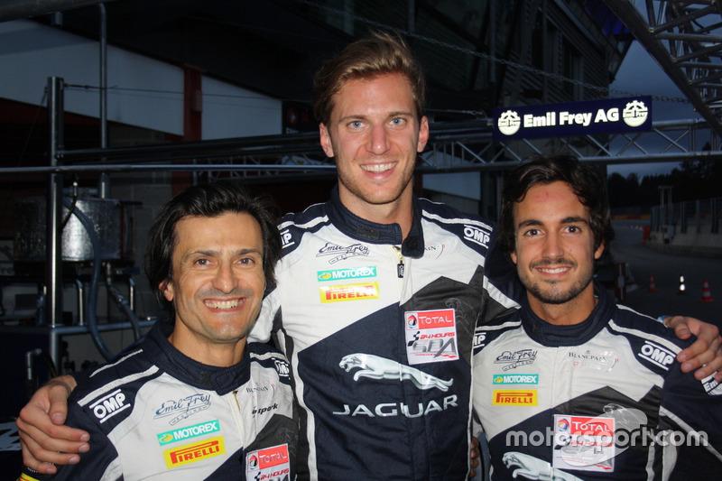 Albert Costa, Lorenz Frey, Stéphane Ortelli, Emil Frey Jaguar G3, Emil Frey Racing