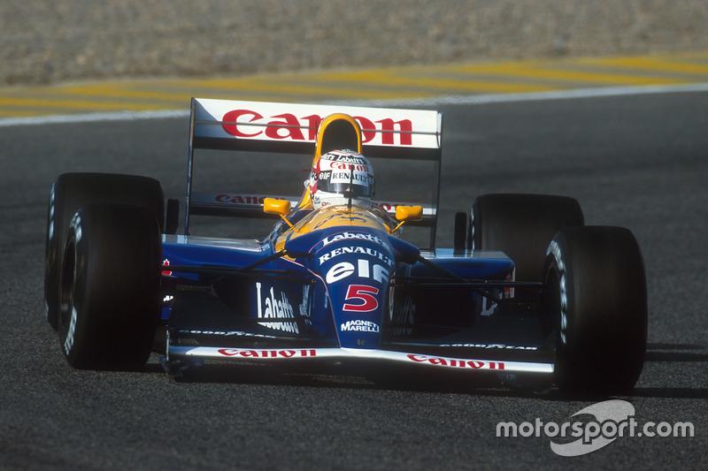 #16: Williams FW14B (1992)