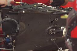 Ferrari SF70H: Getriebe