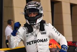 Le poleman Valtteri Bottas, Mercedes AMG
