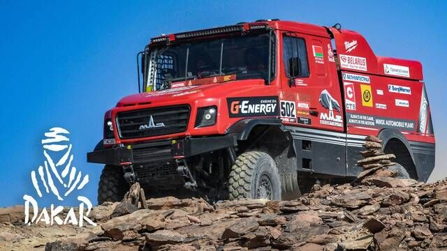 Dakar-Highlights 2021: Etappe 4 - Trucks
