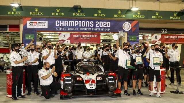 8 Hours of Bahrain: Awards ceremony