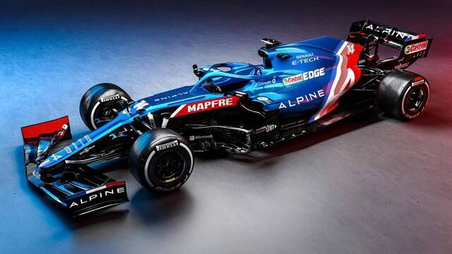 Alpine A521 F1 Launch Highlights