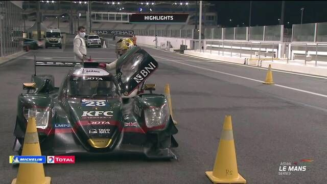 Les meilleurs moments de la finale de l'Asian Le Mans Series