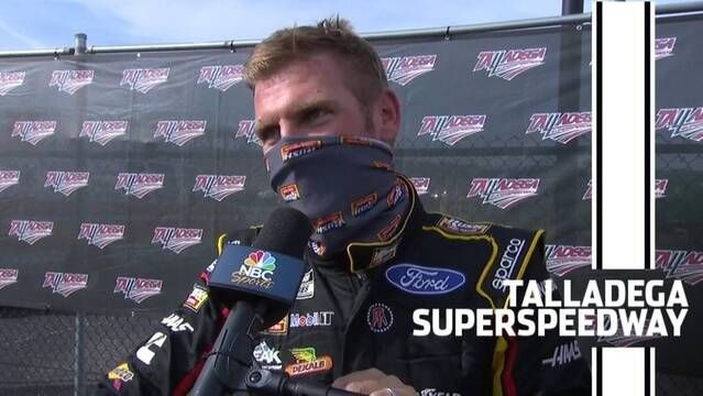 Clint Bowyer turns page to Roval after wreck ends Talladega day