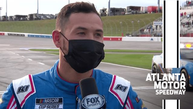 Kyle Larson: Blaney forced me to 'use my stuff up' at Atlanta