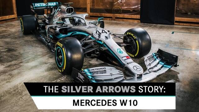 The Silver Arrows Story: Mercedes W03