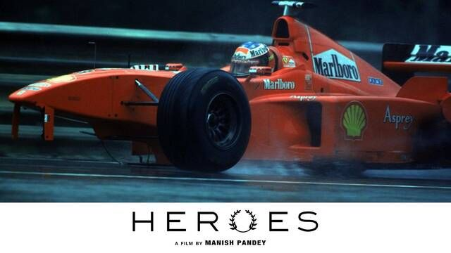 Heroes: aanrijding Schumacher vs Coulthard in Spa 1998