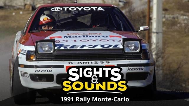 Sights & Sounds : Rallye Monte-Carlo 1991