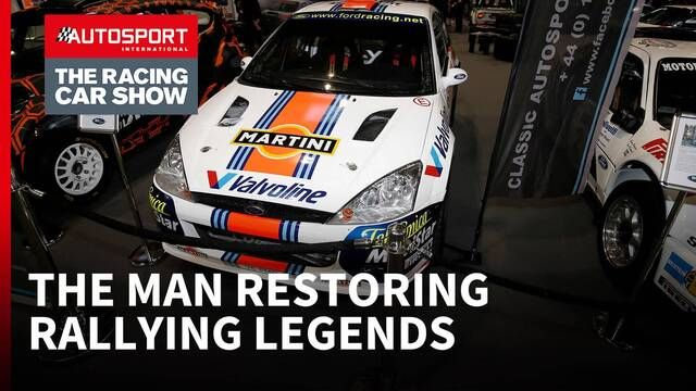 The man restoring rallying's iconic past