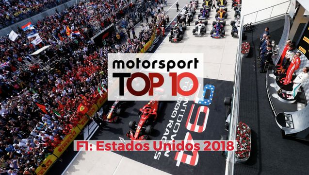 Top10 F1 GP de Estados Unidos 2018