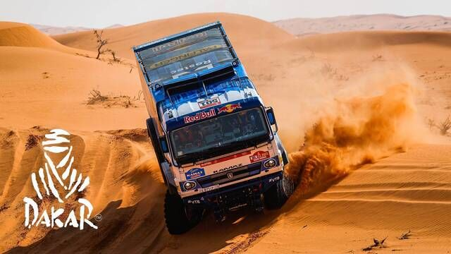 Dakar-Highlights 2021: Etappe 6 - Trucks