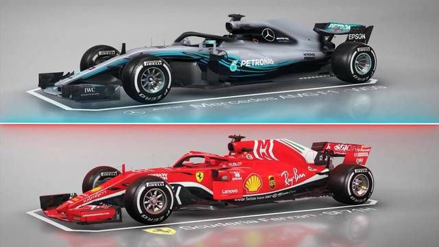 Ferrari vs Mercedes