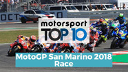 Top 10 Highlights Race | MotoGP San Marino 2018