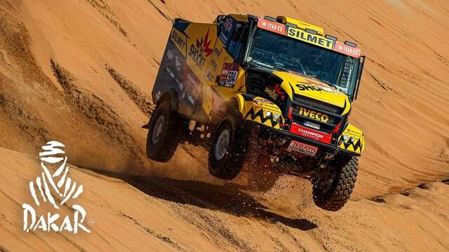 Rallye Dakar 2020: Highlights Trucks Etappe 11