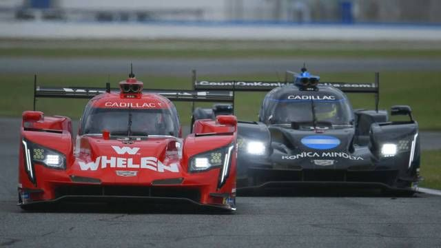 Daytona 24: Battle for the lead