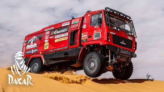 Dakar 2020: Day 6 Highlights - Trucks
