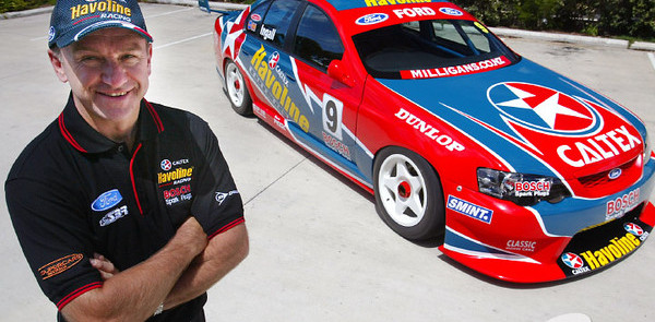 New Year unveiling of Stone Brothers Racing 2003 car, driver