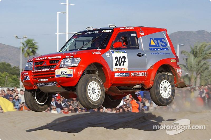 Dakar: Mitsubishi stage three report