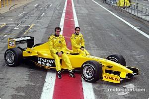 Formula 1 Jordan unveil new livery