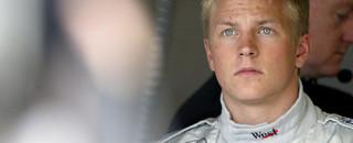 Formula 1 New helmet design for Raikkonen