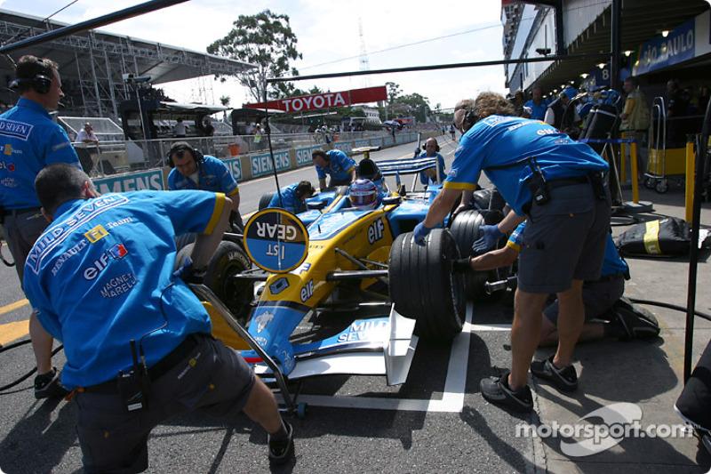 Trulli recaps on Brazil weekend