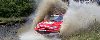 WRC Dust storms end first day of Acropolis Rally early