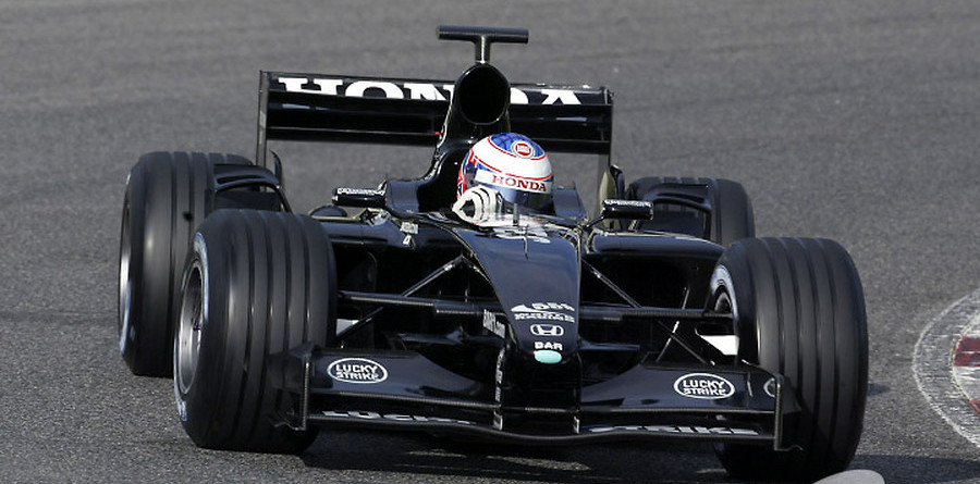 Williams and Ferrari top second day of testing