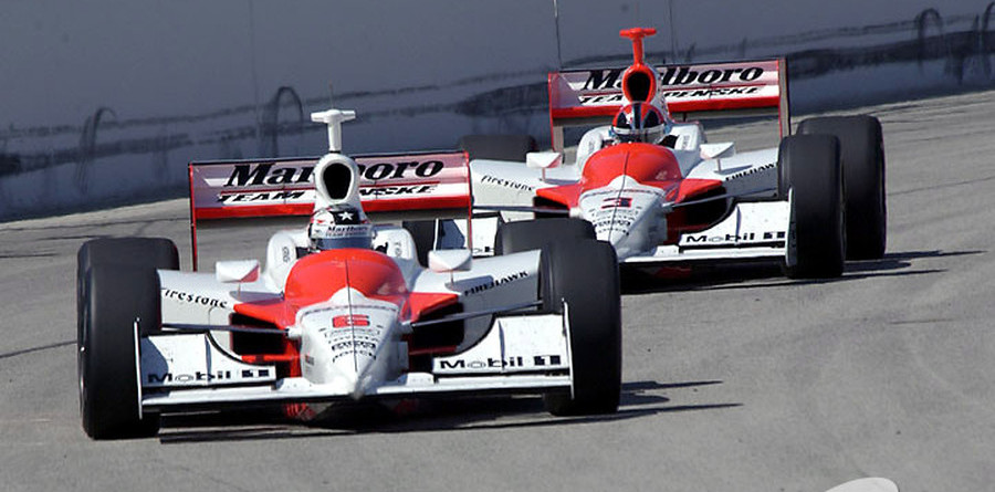 IRL: Castroneves and Hornish lead qualifying at Nazareth