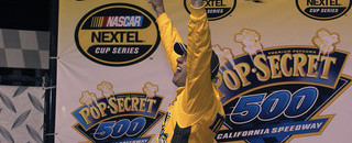NASCAR Cup Sadler flies high for victory in Fontana