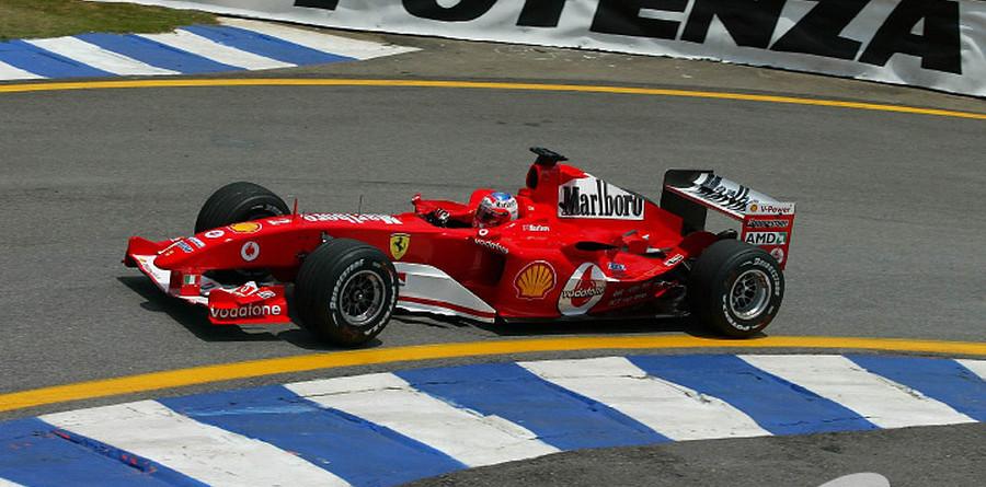 Ferrari leads in Brazilian GP final practice