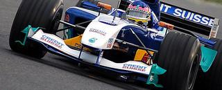 Formula 1 Villeneuve fastest again at Jerez