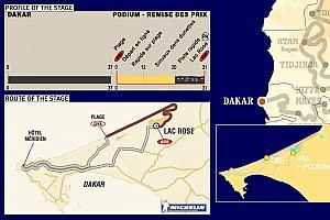 Dakar Dakar: Stage 16 Dakar Loop notes