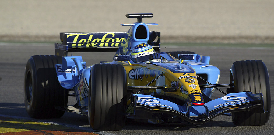 Alonso leads at Barcelona test