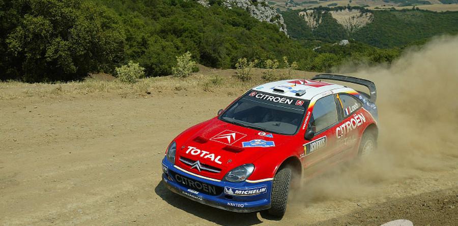 Loeb nips Gronholm on Acropolis Rally 1st leg