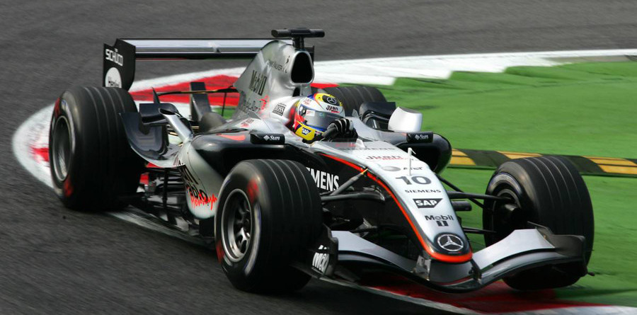 Montoya on pole position for Italian GP