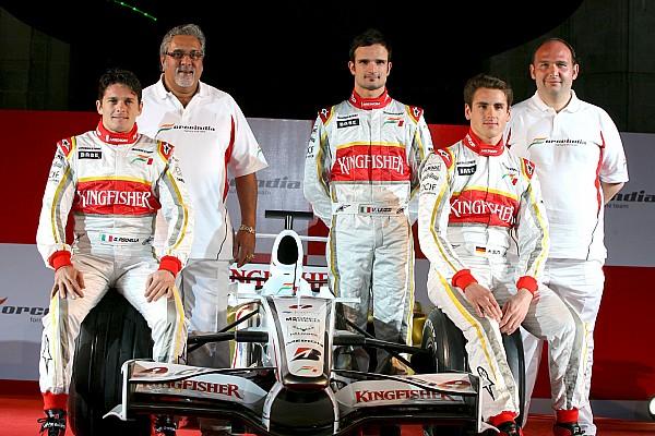 Tarihte bugün: Force India, F1'deki ilk aracını tanıtıyor
