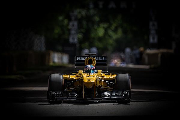 Formule 1 Renault en démo F1 dans 8 villes du sud de la France
