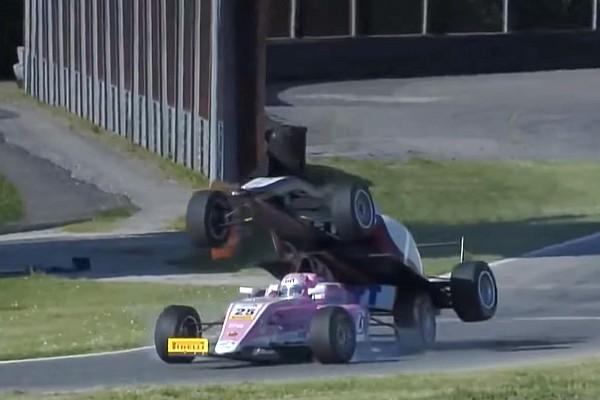 Formula 4 Noticias VÍDEO: Accidente de Fórmula 4 se vuelve viral