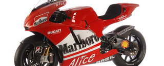MotoGP Ducati's Desmosedici GP6 sees the light